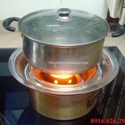 Lò nướng than hoa ngoài trời dùng để ăn lẩu
