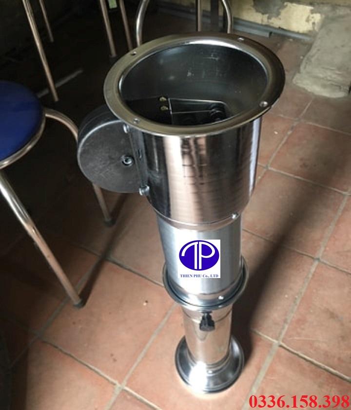 Ống hút khói bếp nướng màu bạc, ống hút khói bếp nướng nhà hàng