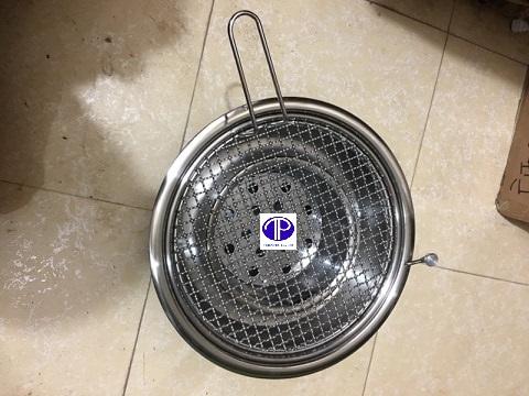 Bếp nướng không khói hút dương