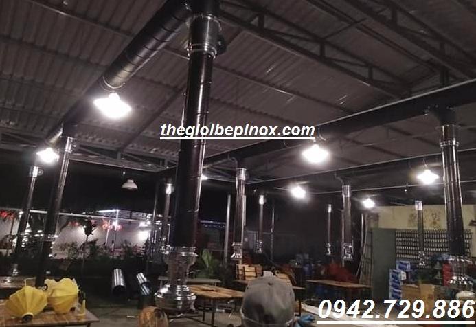 Hệ thống ống hút khói
