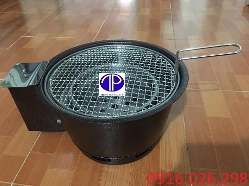Bếp nướng than hoa có quạt thổi than
