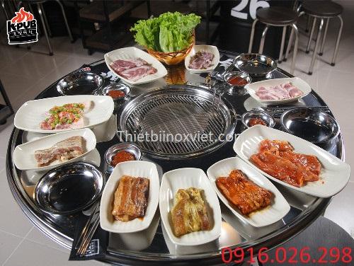 Bàn ăn thùng phuy giá tốt tại Hà Nội
