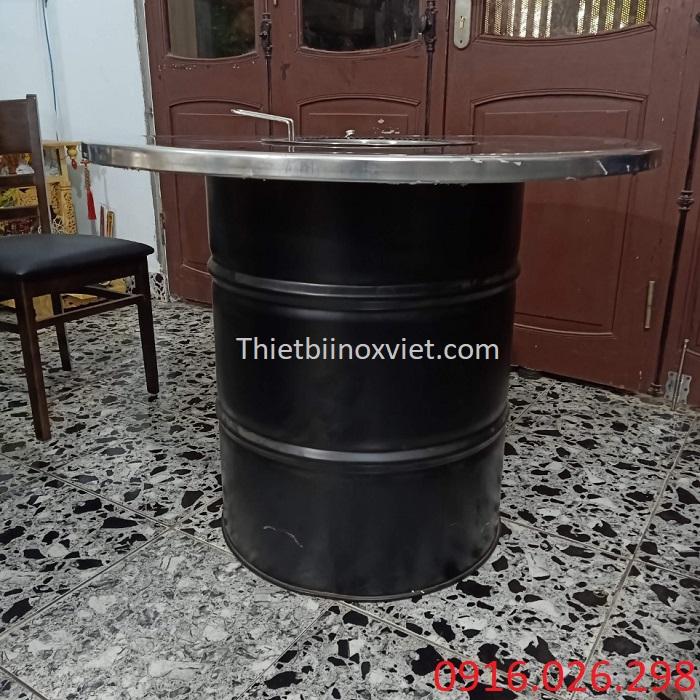 Cung cấp bàn ăn thùng phuy