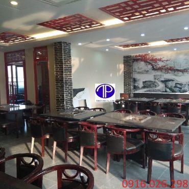 Cung cấp bàn ăn mặt đá nhà hàng tại Hà Nội