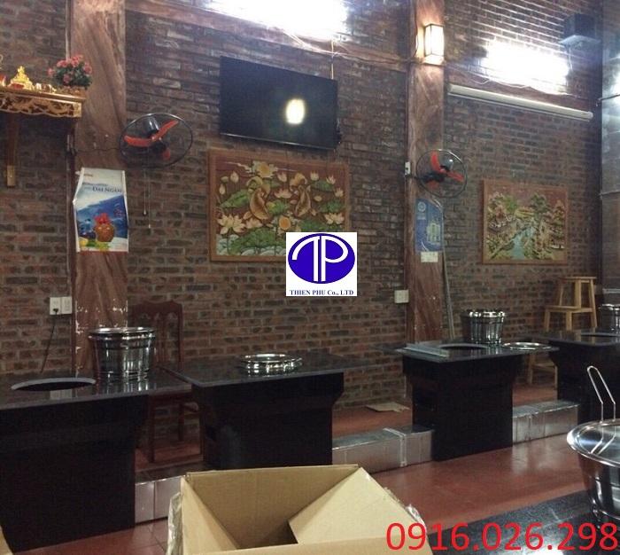 Cung cấp bàn ăn mặt đá dành cho nhà hàng