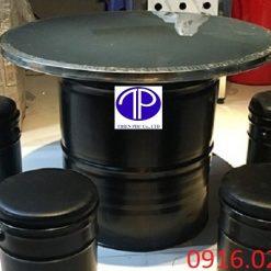 Cung cấp bàn ăn thùng phuy nhà hàng