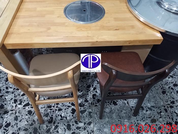 Cung cấp ghế ăn mặt đệm nhà hàng