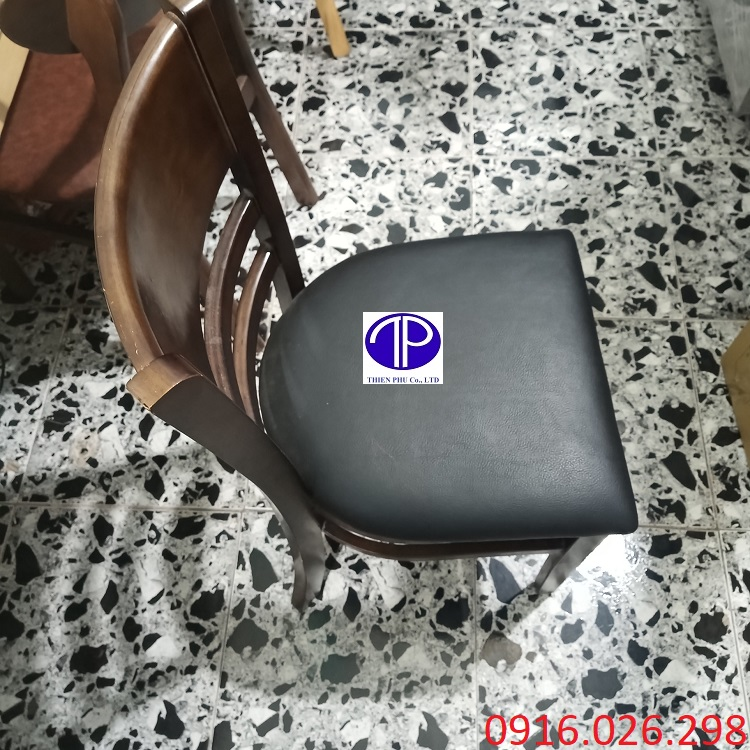 Cung cấp ghế gỗ mặt đệm nhà hàng