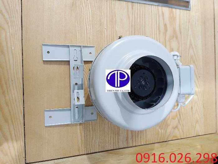 Quạt nối ống D100 cho hệ thống hút khói